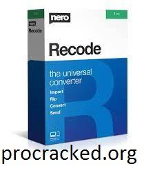Nero Recode 2021 Crack
