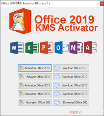 Office 2019 KMS Activator Crack