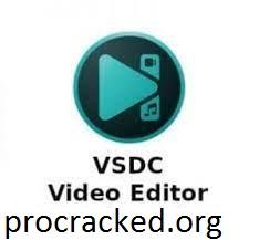 VSDC Free Video Editor 6.8.2.341 Crack